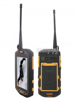 Смартфон DEXP Ixion P145 Dominator Black-Yellow