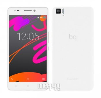 Смартфон BQ Aquaris M5.5 16Gb 3Gb Ram White