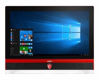 "Моноблок MSI Gaming 27 6QD-008RU 27"" Full HD i5 6400 (2.4)/8Gb/1Tb/GTX970M 6Gb/DVDRW/Windows 10 Single Language/GbitEth/WiFi/BT/TV/Cam/черный/красный"