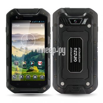 Смартфон Ginzzu RS93 Dual Black