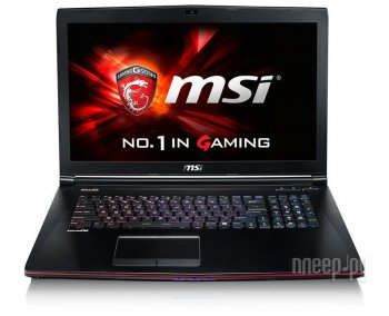 "Ноутбук MSI GE72 6QE(Apache Pro)-268RU Core i7 6700HQ/16Gb/1Tb/DVD-RW/nVidia GeForce GTX 965M 2Gb/17.3""/FHD (1920x1080)/Windows 10/black/WiFi/BT/Cam"