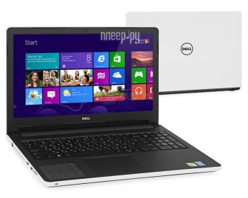 Ноутбук Dell Inspiron 5558 5558-6076 (Intel Core i3-5005U 2.0 GHz/4096Mb/1000Gb/DVD-RW/nVidia GeForce 920M 2048Mb/Wi-Fi/Bluetooth/Cam/15.6/1366x768/Wi