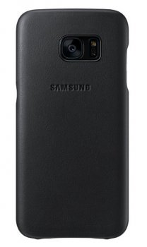 Чехол (клип-кейс) Samsung для Samsung Galaxy S7 Leather Cover черный (EF-VG930LBEGRU)
