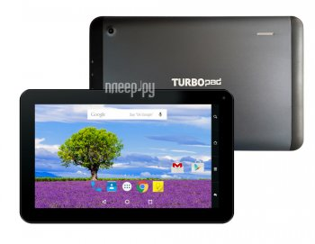 Планшетный компьютер TurboPad 912 NEW (MTK8321 1.2 GHz/1024Mb/8Gb/GPS/Wi-Fi/3G/Bluetooth/Cam/9.0/1024x600/Android)
