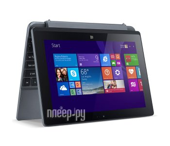 Планшетный компьютер Acer Aspire One 10 32Gb NT.G53ER.001 (Intel Atom Z3735F 1.33 GHz/2048MB/32Gb/Wi-Fi/Bluetooth/Cam/10.1/1280x800/Windows 8.1)