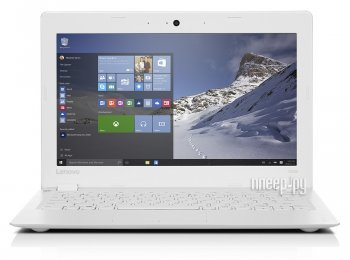 Ноутбук Lenovo IdeaPad 100s-11IBY 80R2007LRK (Intel Atom Z3735F 1.33 GHz/2048Mb/64Gb SSD/No ODD/Intel HD Graphics/Wi-Fi/Bluetooth/Cam/11.6/1366x768/Wi