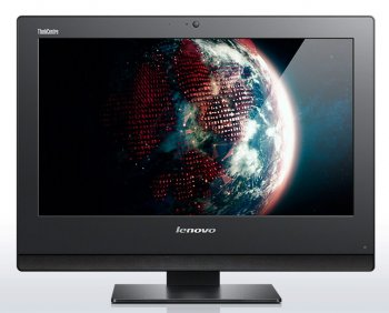 "Моноблок Lenovo ThinkCentre Edge E73z 20"" HD i3 4170/8Gb/500Gb/DVDRW/Windows 7 Professional 64/WiFi/Cam/белый"