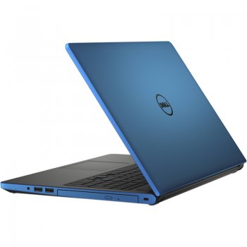 "Ноутбук Dell Inspiron 5555 A6 7310/4Gb/500Gb/DVD-RW/AMD Radeon R5 M335 2Gb/15.6""/HD (1366x768)/Windows 10/blue/WiFi/BT/Cam/2630mAh"