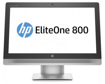 "Моноблок HP EliteOne 800 G2 23"" Full HD i3 6100 (2.9)/4Gb/500Gb 7.2k/HDG4600/DVDRW/Windows 10 64 +W7Pro/GbitEth/WiFi/клавиатура/мышь/Cam/черный 1920x1"