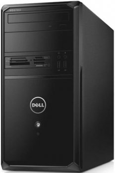 Системный блок Dell Vostro 3900 MT i3 4170/4Gb/500Gb/HDG4400/DVDRW/CR/Windows 10 Home Single Language 64/клавиатура/мышь