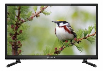 "Телевизор-LCD 23.6"" Supra S-LC24T740FL черный/FULL HD/50Hz/DVB-T/USB (RUS)"