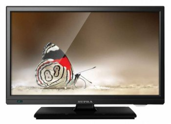 "Телевизор-LCD 22"" Supra S-LC22T550FL черный/FULL HD/50Hz/DVB-T2/DVB-C/USB (RUS)"