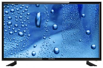 "Телевизор-LCD 32"" Supra S-LC32T550WL черный/HD READY/50Hz/DVB-T/DVB-T2/DVB-C/USB (RUS)"