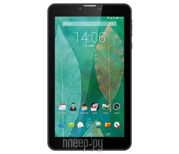 Планшетный компьютер teXet X-pad Quad 7 3G TM-7876 Black (Spreadtrum SC5735 1.2 GHz/512Mb/4Gb/Wi-Fi/3G/Bluetooth/GPS/Cam/7.0/1024x600/Android)