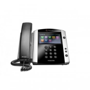 Стационарный телефон Polycom VVX 600 16-line Business Media Phone with built-in Bluetooth and HD Voice. Compatible Partner platforms: 20. Factory disa