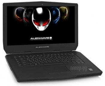 Ноутбук Dell Alienware 15 A15-1608 (Intel Core i7-6700HQ 2.6 GHz/16384Mb/1000Gb + 256Gb SSD/nVidia GeForce GTX 980M 4096Mb/Wi-Fi/Cam/15.6/1920x1080/Wi