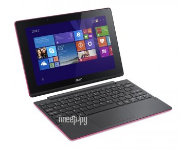 Планшетный компьютер Acer Aspire Switch 10 SW3-016-128L NT.G8YER.001 Pink (Intel Atom x5-Z8300 1.44 GHz/2048MB/32Gb/Intel HD Graphics/Wi-Fi/Bluetooth/