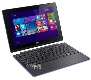 Планшетный компьютер Acer Aspire Switch 10 SW3-016-1192 NT.G8UER.001 Purple (Intel Atom x5-Z8300 1.44 GHz/2048MB/32Gb/Intel HD Graphics/Wi-Fi/Bluetoot