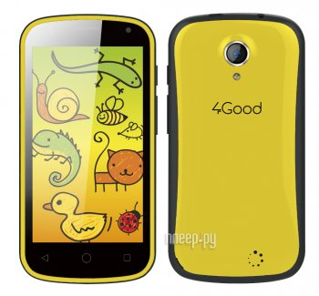 Смартфон 4Good S45 Kids Yellow