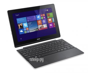 Планшетный компьютер Acer Aspire Switch 10 SW3-016-16DT NT.G91ER.001 Iron (Intel Atom x5-Z8300 1.44 GHz/2048MB/32Gb + 500Gb/Intel HD Graphics/Wi-Fi/Bl
