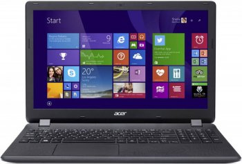"Ноутбук Acer Aspire ES1-531-P81V Pentium N3700/2Gb/500Gb/DVD-RW/UMA/15.6""/HD/Windows 10/white/WiFi/BT/Cam"