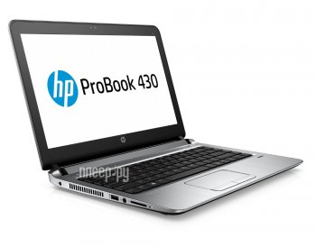 "Ноутбук hp ProBook 430 G3 Core i5 6200U/4Gb/500Gb/Intel HD Graphics/13.3""/SVA/HD (1366x768)/Windows 7 Professional 64 +W10Pro/black/WiFi/BT/Cam"