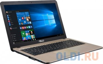 "Ноутбук Asus R540Sa Celeron N3050 (1.6)/2G/500G/15.6"" HD GL/Int:Intel HD/BT/Win10 Chocolate Black 90NB0B31-M00840"