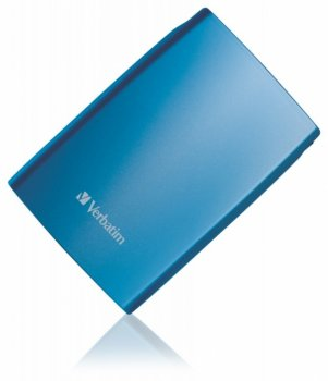 "Внешний жесткий диск Verbatim USB 3.0 500Gb (5400rpm) 2.5"" Caribbean Blue Blister"