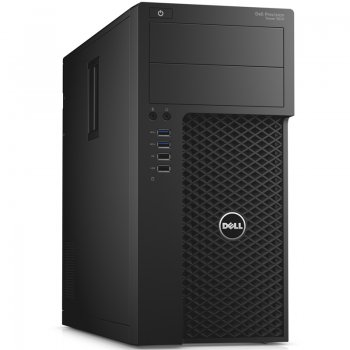 Системный блок Dell Precision 3620 MT Xeon E3-1225v5 (3.3)/8Gb/1Tb 7.2k/HD P530 2Gb/Windows 7 Professional 64/клавиатура/мышь