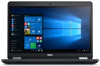 "Ноутбук Dell Latitude E5470 Core i5 6300HQ/8Gb/SSD256Gb/Intel HD Graphics 5300/14""/FHD (1920x1080)/Windows 7 Professional 64 +W10Pro/black/WiFi/BT/Cam"