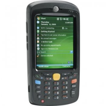 Терминал сбора данных Symbol MC55A0-P20SWRQA7WR LAN/802.11 a/b/g/BlueTooth/PAN/WM6.5 Classic/Standard 2400 mAh Battery