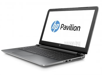 Ноутбук hp Pavilion 15-AB234UR Silver V0Z44EA (Intel Pentium N3700 1.6 GHz/4096Mb/500Gb/DVD-RW/Intel HD Graphics/Wi-Fi/Bluetooth/Cam/15.6/1366x768/Win