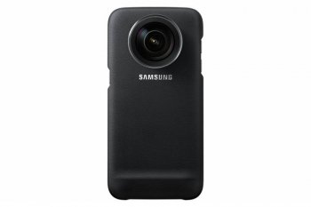 Чехол (клип-кейс) Samsung для Samsung Galaxy S7 edge Lens Cover черный (ET-CG935DBEGRU)
