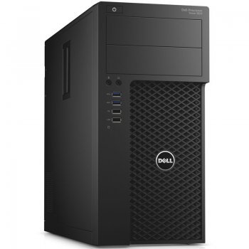 Системный блок Dell Precision 3620 MT Xeon E3-1240v5 (3.5)/16Gb/1Tb 7.2k/SSD256Gb/K2200 4Gb/Windows 7 Professional 64 +W10Pro/GbitEth/290W/клавиатура/