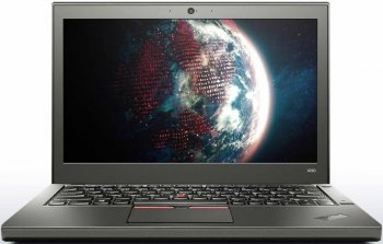 "Ноутбук Lenovo ThinkPad X250 Core i5 5200U/4Gb/500Gb/Intel HD Graphics 5500/12.5""/HD (1366x768)/noOS 64/black/WiFi/BT/Cam"