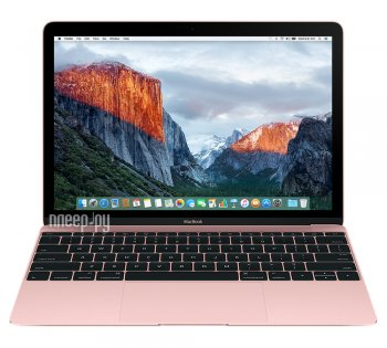 Ноутбук APPLE MacBook 12 MMGM2RU/A Rose Gold