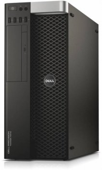 Системный блок Dell Precision T7810 MT Xeon E5-2630v3 (2.4)/32Gb/500Gb 7.2k/SSD256Gb/M4000 8Gb/DVDRW/CR/Windows 7 Professional +W8.1Pro/клавиатура/мыш