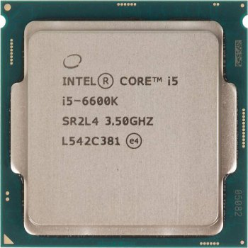 Процессор Intel Original Core i5 6600K Soc-1151 (BX80662I56600K S R2L4) (3.5GHz/Intel HD Graphics 530) Box