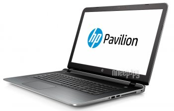 Ноутбук hp Pavilion 17-g168ur P4G42EA (Intel Core i3-6100U 2.3 GHz/4096Mb/500Gb/DVD-RW/AMD Radeon R7 M360 2048Mb/Wi-Fi/Bluetooth/Cam/17.3/1366x768/Win
