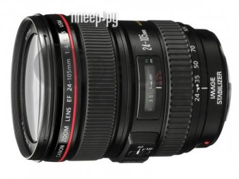 Объектив Canon EF 24-105 mm F/4.0 L IS USM*