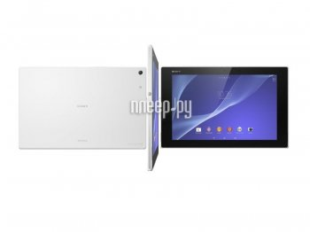 Планшетный компьютер Sony Xperia Tablet Z2 32Gb SGP512RU/W White (Qualcomm Snapdragon 801 2.3 GHz/3072Mb/32Gb/Wi-Fi/Bluetooth/GPS/Cam/10.1/1920x1200/A