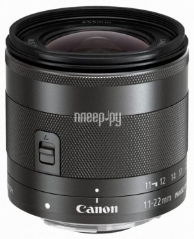Объектив Canon EF-M 11-22 mm F/4-5.6 IS STM*