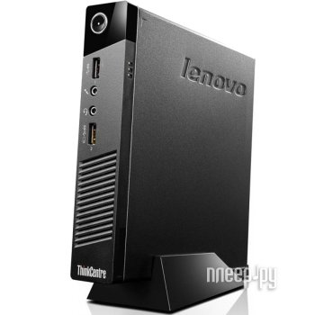 Неттоп Lenovo ThinkCentre M53 Tiny 10DE001QRU (Intel Celeron J1800 2.41 GHz/2048Mb/500Gb/No ODD/Intel HD Graphics/WiFi/Bluetooth/Windows 8.1)