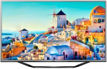 "Телевизор-LCD 55"" LG 55UH620V черный/Ultra HD/100Hz/DVB-T2/DVB-C/DVB-S2/USB/WiFi/Smart (RUS)"