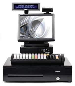"POS-комплект 10"" TX-4200 черный, LM-3110, PD-2800, CR-4000, KB-6600 MSR, Windows POSReady 7"