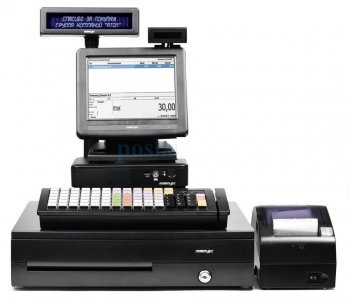 "POS-комплект ЕГАИС 8"" TX-4200 черный, LM-2008, PD-2800, CR-4000, KB-6600 MSR, 2D сканер 1450gHR, FPrint-55ПТК, без ОС"