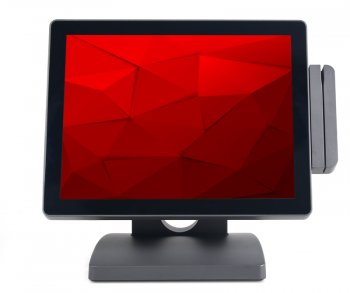 "POS-Терминал АТОЛ ViVA II ZQ-T9250 сенсорный терминал 15"" TFT, Intel Cedar View D2550 1.86 GHz, HDD, 2 GB DDR3 + Доп. монитор 15"" + Ридер МК, Windows"