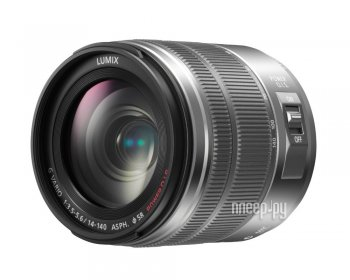 Объектив Panasonic H-FS14140 Lumix G Vario 14-140 mm F/3.5-5.6 ASPH POWER O.I.S Silver*