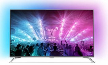 "Телевизор-LCD Philips 49"" 49PUS7101/60 черный/Ultra HD/2000Hz/DVB-T/DVB-T2/DVB-C/DVB-S/DVB-S2/3D/USB/WiFi/Smart (RUS)"