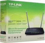 Маршрутизатор TP-LINK <Archer C50> Wireless Router (4UTP 10/100Mbps, 1WAN, 802.11b/g/n/ac, USB, 867Mbps)